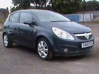 VAUXHALL CORSA 1.2 SE 5 DR BLUE 1 YRS MOT NEW B/DISCS AND PADS FITTED CLICK ON VIDEO LINK FOR INF