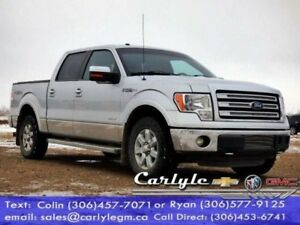 2013 Ford F-150 Lariat 4WD Crew, Htd. Leather