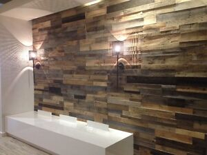 Exclusive! 10% off Reclaimed Wood Accent Wall!