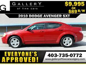 2010 Dodge Avenger SXT $89 BI-WEEKLY APPLY NOW DRIVE NOW