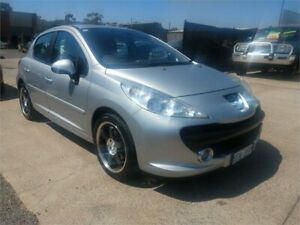 2007 Peugeot 207 XT Silver 4 Speed Automatic Hatchback