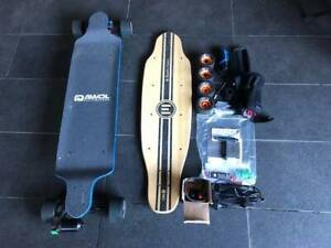 Evolve Electric Skateboard Bamboo One A1 Condition