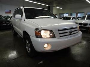 2007 Toyota Highlander |CLEAN CARPROOF|AWD|LEATHER INTERIOR|