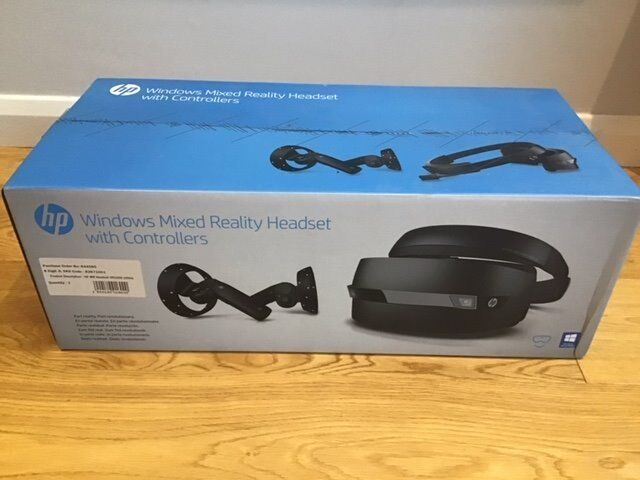 HP Windows Mixed Reality Headset with Controllers  Still in box never been  used    in Kingston, London   Gumtree