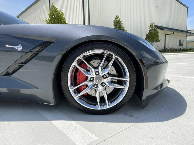 2014 Gray Chevrolet Corvette Stingray Z51   C7 Corvette Photo 9