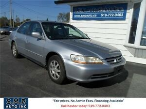 2002 Honda Accord Sdn SE Kitchener / Waterloo Kitchener Area image 1