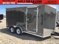 7'x14' Enclosed Trailer 7000GVWR Extra Height 14+V Calgary Alberta Preview