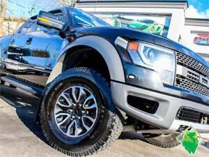 '14 Ford SVT RAPTOR+Nav+SUPERCREW+Roof+Leather+MINT! $297/Pmts!!