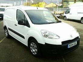 Peugeot Partner L1 850 1.6 HDI 92BHP VAN DIESEL MANUAL WHITE (2014)