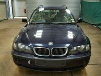 BMW E46 ESTATE 2004 BLUE CHEAP FRONT BUMPER, REAR BUMPER - ono