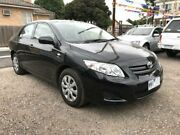 2008 Toyota Corolla ZRE152R Ascent Black 4 Speed Automatic Sedan South Geelong Geelong City Preview