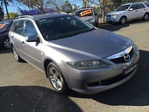 2007 Mazda 6 GG Diesel Grey 6 Speed Manual Wagon Campbelltown Campbelltown Area Preview