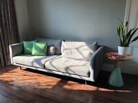 Made grey 2.5 seater sofa