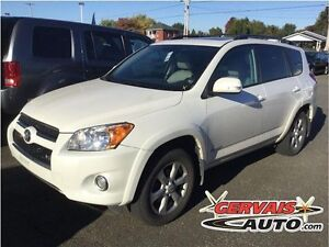 Toyota RAV4 Limited V6 AWD Cuir Toit Ouvrant MAGS 2010
