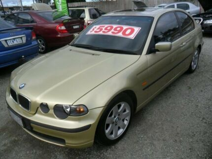 2002 BMW 318TI   Automatic Sedan Beaconsfield Cardinia Area Preview