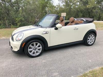 2013 MINI Cooper FREE SHIPPING ONE FL OWNER NO DEALER FEES 2013 MINI Cooper Convertible FREE SHIPPING ONE FL OWNER NO DEALER FEES Used Mini Cooper Convertible