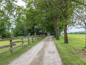 3.5 Acre Hobby Farm with Woods & Stream Close to Meaford