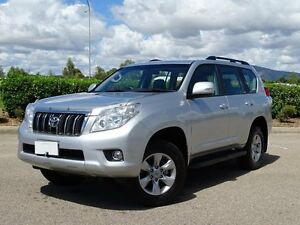 2011 Toyota Landcruiser Prado KDJ150R GXL (4x4) Silver 5 Speed Sequential Auto Wagon Vincent Townsville City Preview