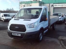 Ford Transit T350 13ft Dropside 125ps DIESEL MANUAL WHITE (2015)