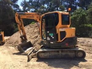 Hyundai R 60CR Excavator Archerfield Brisbane South West Preview