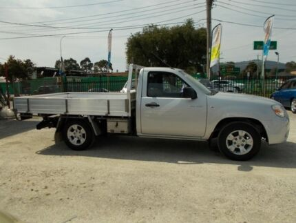 2010 Mazda BT-50 UNY0W4 DX Silver 5 Speed Manual Cab Chassis