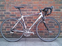 Specialized Allez 24 speed racer alloy + bottle, holder, toolbag and more