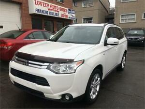 2014 Mitsubishi Outlander GT,NAVIGATION,AWD,BACK UP CAMERA,7 SEA