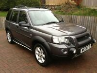 Landrover Freelander 1.8 XEi Petrol FULL SERVICE HISTORY - 54 plate Excellent condition throughout.