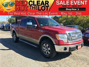 2010 Ford F-150 Lariat REDUCED! CERTIFIED! 4x4! NAV! LEATHER!