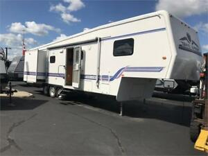 1997 MASSIVE 40FT 5TH WHEEL GREAT SHAPE! 3 SLIDEOUTS! $9000
