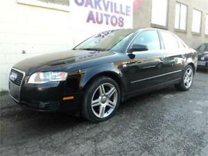 2007 Audi A4 2.0T AUTOMATIC LEATHER SUNROOF AWD SAFETY INC