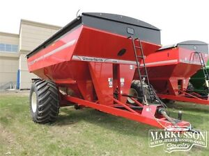 2017 Unverferth 9250 Grain Cart -1000bu, tarp, scale, PTO drive