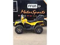 2008 Can-Am Outlander MAX 650 H.O. EFI XT 4x4