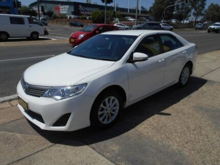 2014 Toyota Camry ASV50R Altise White 6 Speed Sports Automatic Sedan Fyshwick South Canberra Preview