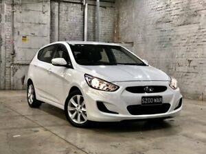 2018 Hyundai Accent RB6 MY18 Sport White 6 Speed Sports Automatic Hatchback Mile End South West Torrens Area Preview