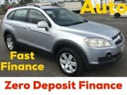 2008 Holden Captiva CG MY08 CX AWD Silver 5 Speed Sports Automatic Wagon Loganholme Logan Area Preview