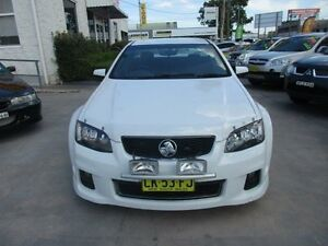 2011 Holden Ute VE II SV6 White Auto Sports Mode Utility North Parramatta Parramatta Area Preview