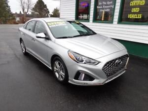 2018 Hyundai Sonata Sport for only $188 bi-weekly all in!