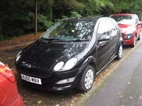 2005 SMART FOR-FOUR PULSE 1100 MANUAL MOT ONE LADY OWNER POSS/ PART X