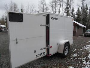 CANADIAN MADE 5'  x 8' CARGO WITH A V-NOSE Prince George British Columbia image 7