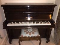 Upright piano - free to good home. Only removal costs to pay