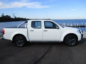 2012 Nissan Navara D40 MY12 ST (4x4) White 5 Speed Automatic Dual Cab Pick-up Horsley Wollongong Area Preview