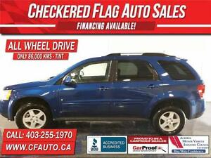 2009 Pontiac Torrent GT W/ ALL WHEEL DRIVE-ONLY 86400km!