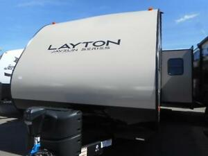 LIGHT WEIGHT DOESN'T MEAN LESS SPACE WITH THE LAYTON 267RLS