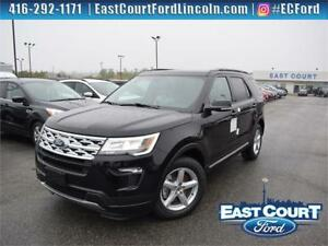 2018 Ford Explorer XLT|$114/wk|Twin Roof|NAV|Backup Cam|Lthr Sea