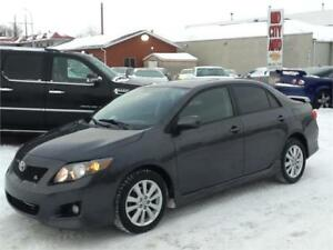 SOLD...2009 Toyota Corolla S $6500 FIRM MIDCITY AUTO