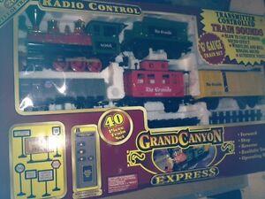 Grand Canyon Express Wireless Remote Control G Gauge 40pc train