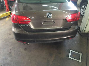 2013 Volkswagen Jetta TDI parts car.