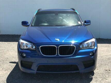2011 BMW X1 E84 MY11 sDrive20d Steptronic Blue 6 Speed Sports Automatic Wagon