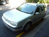 2005 VW GOLF EST 1.9 TDI DIESEL MOT SEPTEMBER. FULL SERVICE HISTORY. 2 KEYS. GREAT CONDITION